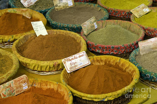 Lourmarin Photograph - Spices by Bob Phillips