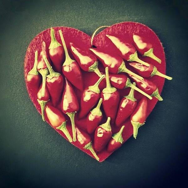 Wall Art - Photograph - Spicy Love! Buon San Valentino! by Emanuela Carratoni