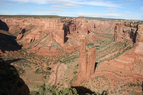 Spider Rock Photograph - Spider Rock  Canyon De Chelly by Christiane Schulze Art And Photography