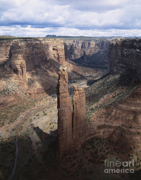 George Canyon Photograph - Spider Rock, Canyon De Chelly by George Ranalli