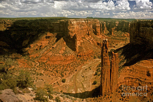 Spider Rock Photograph - Spider Rock - Canyon De Chelly by Paul W Faust -  Impressions of Light