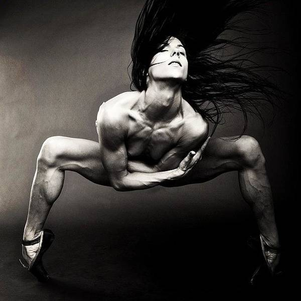 Nude Photograph - Spider  Giulia Piolanti  Photo By by Bryon Paul Mccartney