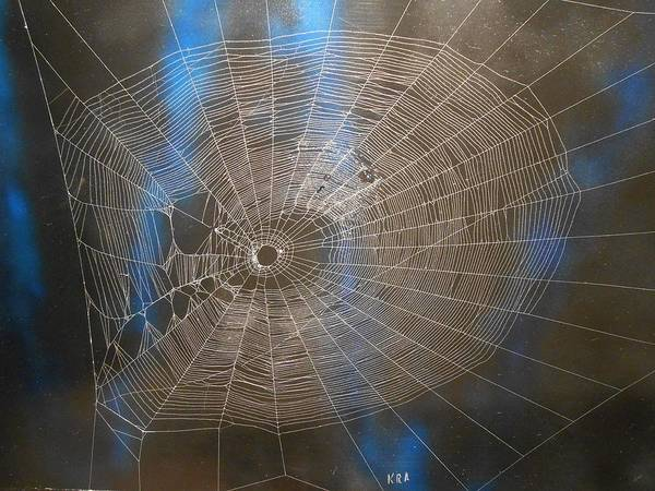 Poison Mixed Media - Spiders Web 301 by Kenneth Albury