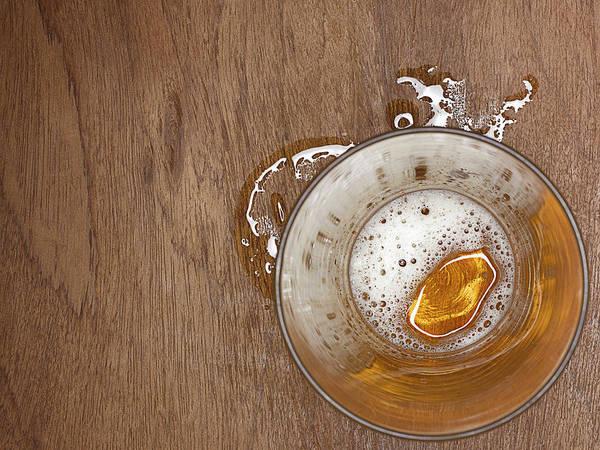 Beer Photograph - Spilt Beer by Adrian Burke