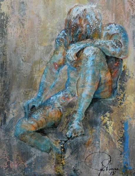Wall Art - Painting - Spilt Milk by John Henne