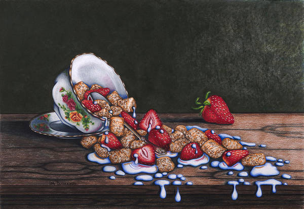 Painting - Spilt Milk by Lori Sutherland