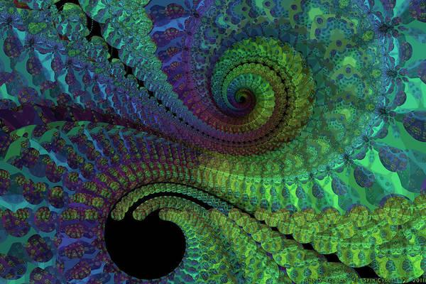 Digital Art - Spin Cycle  by Ann Stretton