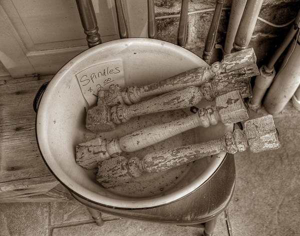 Photograph - Spindles by Michael Kirk