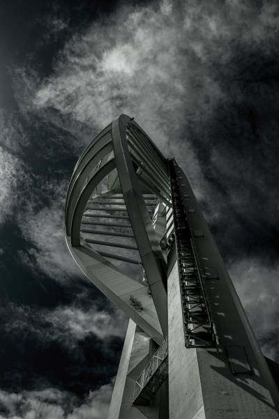Spinnaker Photograph - Spinnaker Tower Portsmouth Uk by Martin Newman