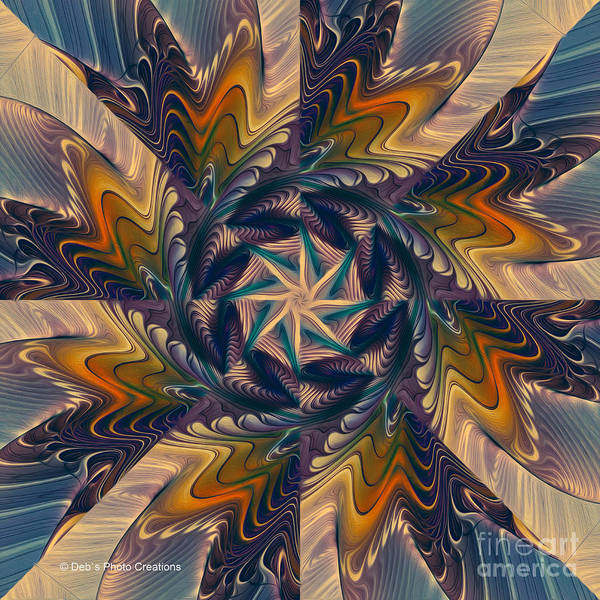 Digital Art - Spinning Energy by Deborah Benoit