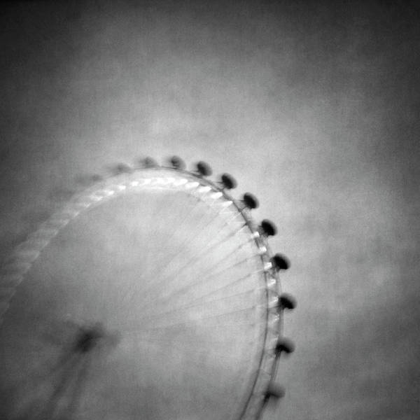 London Eye Photograph - Spinning Round by Vangelis Bagiatis
