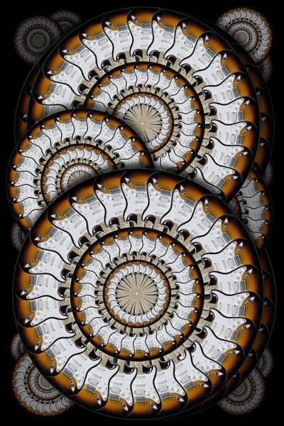 Wall Art - Photograph - Spinning Guitars 3  by Mike McGlothlen