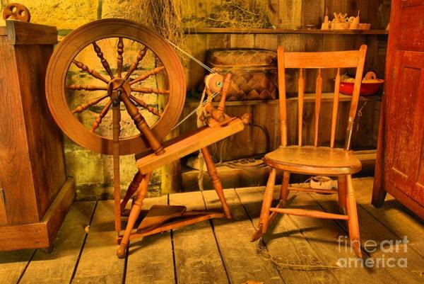 Photograph - Spinning Wheel by Adam Jewell