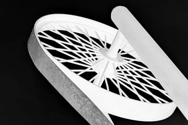 Photograph - Spinning Wheel by AJ  Schibig