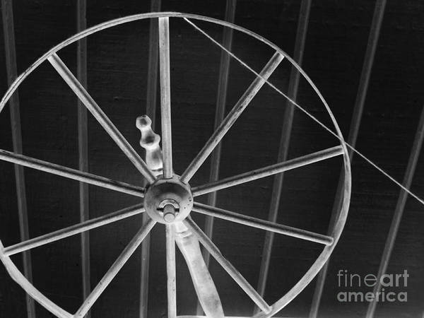 Photograph - Spinning Wheel by Robyn King