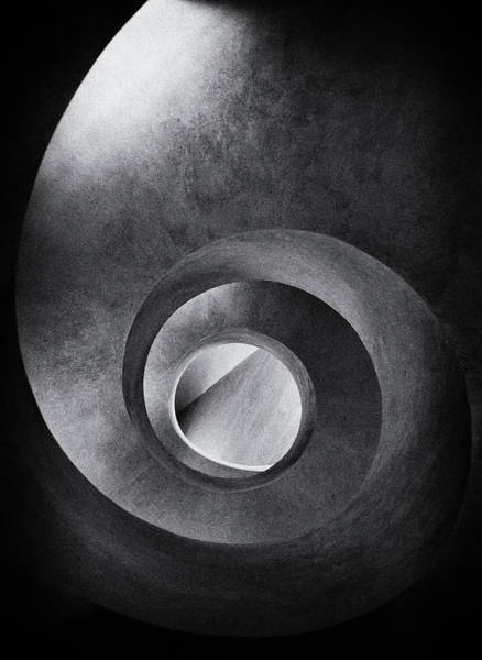 Wall Art - Photograph - Spiral And Diagonal by Burghard Nitzschmann