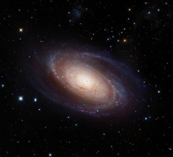 Ursa Major Photograph - Spiral Galaxy M81 by Naoj/nasa/esa/stsci/robert Gendler/roberto Colombari/science Photo Library