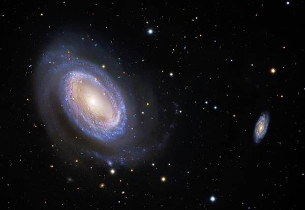 Astrophysical Wall Art - Photograph - Spiral Galaxy Ngc 4725 by Robert Gendler