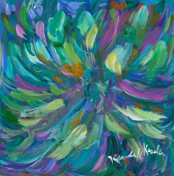 Painting - Spiral by Kendall Kessler