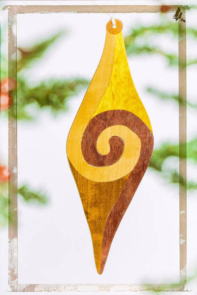 Photograph - Spiral Holiday Image Art by Jo Ann Tomaselli