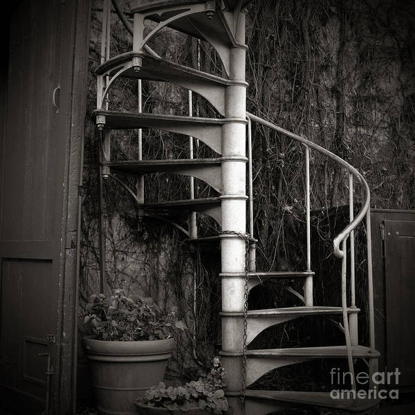 Photograph - Spiral Staircase by Charmian Vistaunet