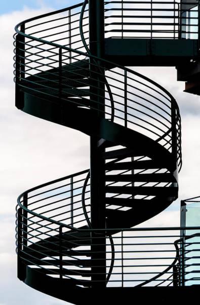 Rungs Wall Art - Photograph - Spiral Staircase by Dutourdumonde Photography