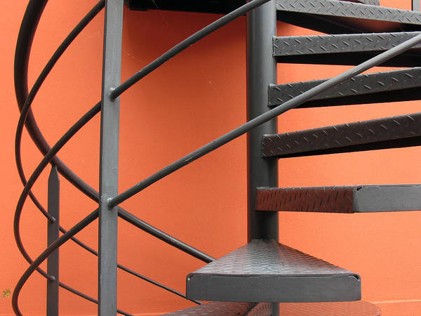 Photograph - Spiral Staircase by Gerry Bates