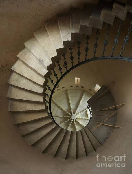 Historic Wall Art - Photograph - Spiral Staircase In A Tower by Jaroslaw Blaminsky