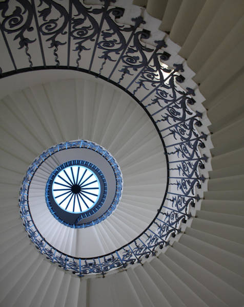 Photograph - Spiral Staircase by Pat Moore