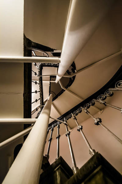 Photograph - Spiral Stairs Up To The Bell Tower by Sven Brogren