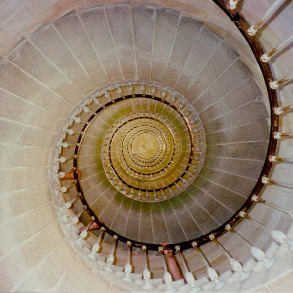 Photograph - Spirale Du Phare Des Baleines Version Carree by Marc Philippe Joly
