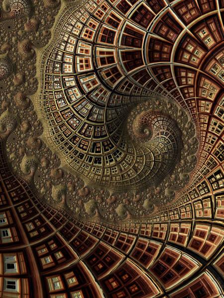 Digital Art - Spiralised by Amanda Moore