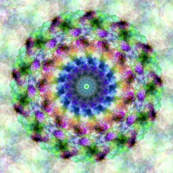 Spirea Mandala #1 Art Print