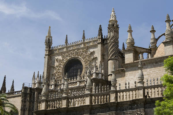 Photograph - Spires Of The Cathedral Of St. Mary's by Lorraine Devon Wilke