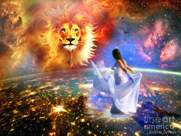 Heaven Digital Art - Spirit And Truth by Dolores Develde