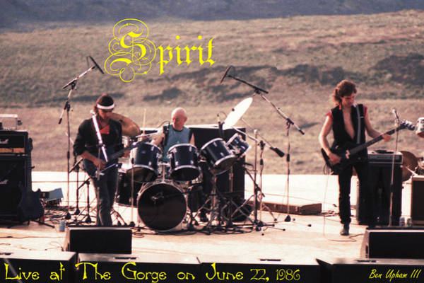 Photograph - Spirit At The Gorge With Text by Ben Upham