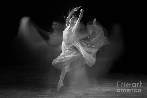 Photograph - Spirit Dance In Black And White by Cindy Singleton