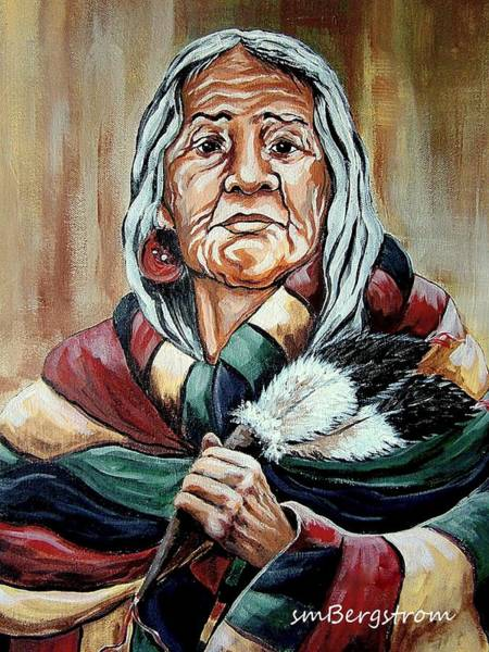 Bergstrom Painting - Spirit Guide by Susan Bergstrom