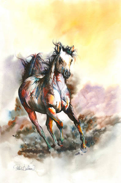 Painting - Spirit In The Sky by Peter Williams