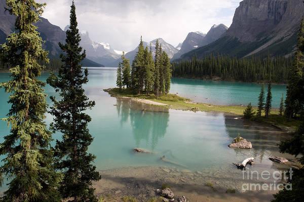 Photograph - Spirit Island Canada by Chris Scroggins