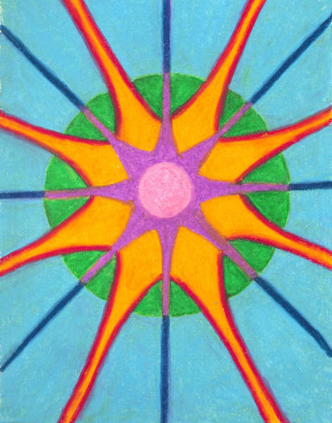 Painting - Spirit Mandala by Carrie MaKenna