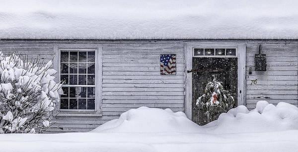 Henniker Photograph - Spirit Of 76 Winter Homestead by Scott Snyder