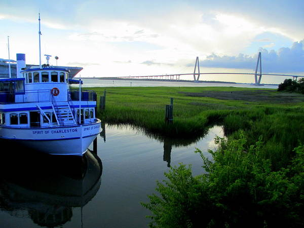 Point Pleasant Photograph - Spirit Of Charleston by Randall Weidner