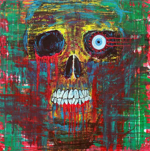 Wall Art - Painting - Spirit Of Davy Jones by Laura Barbosa