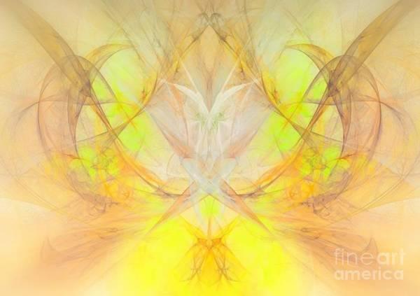 Essence Digital Art - Spirit Of The Great Owl by Maria Urso