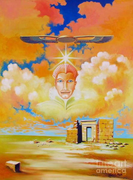 Painting - Spirit Of The Place At Ruin Nippur by Alexa Szlavics