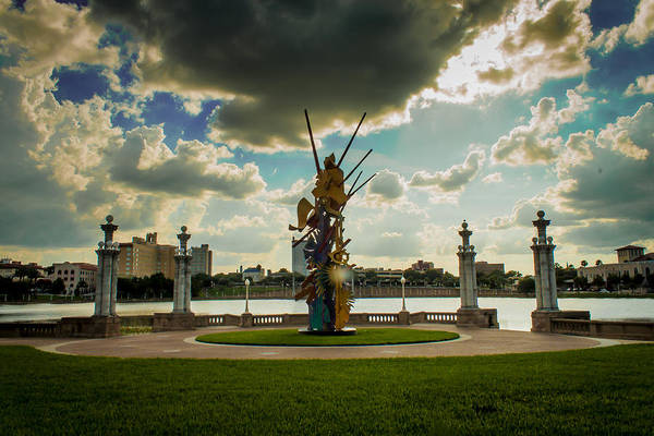 Albert Paley Photograph - Spirit Of Volunteerism  by The Ride Photography Company
