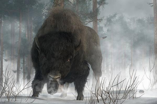 Digital Art - Spirit Of Winter by Daniel Eskridge