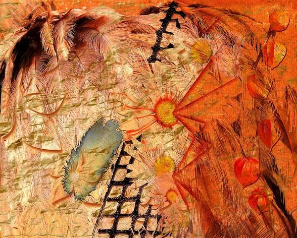 Wall Art - Digital Art - Spirit Walk by Paula Ayers