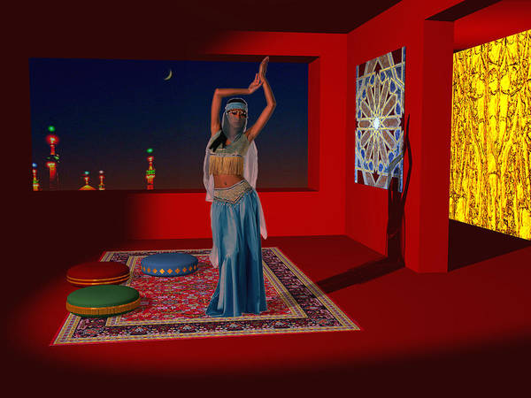 Phantasy Digital Art - Spirits Of Arabia by Andreas Thust